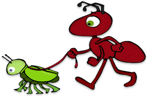 500x330 Funny Ant Clipart