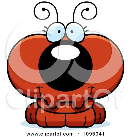 450x470 Red Ant Clipart Vector