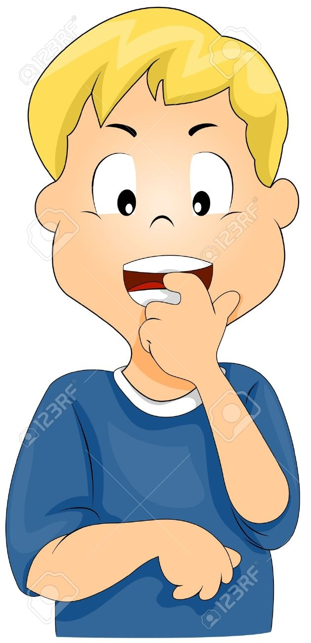 629x1300 Anxious Kid Clipart