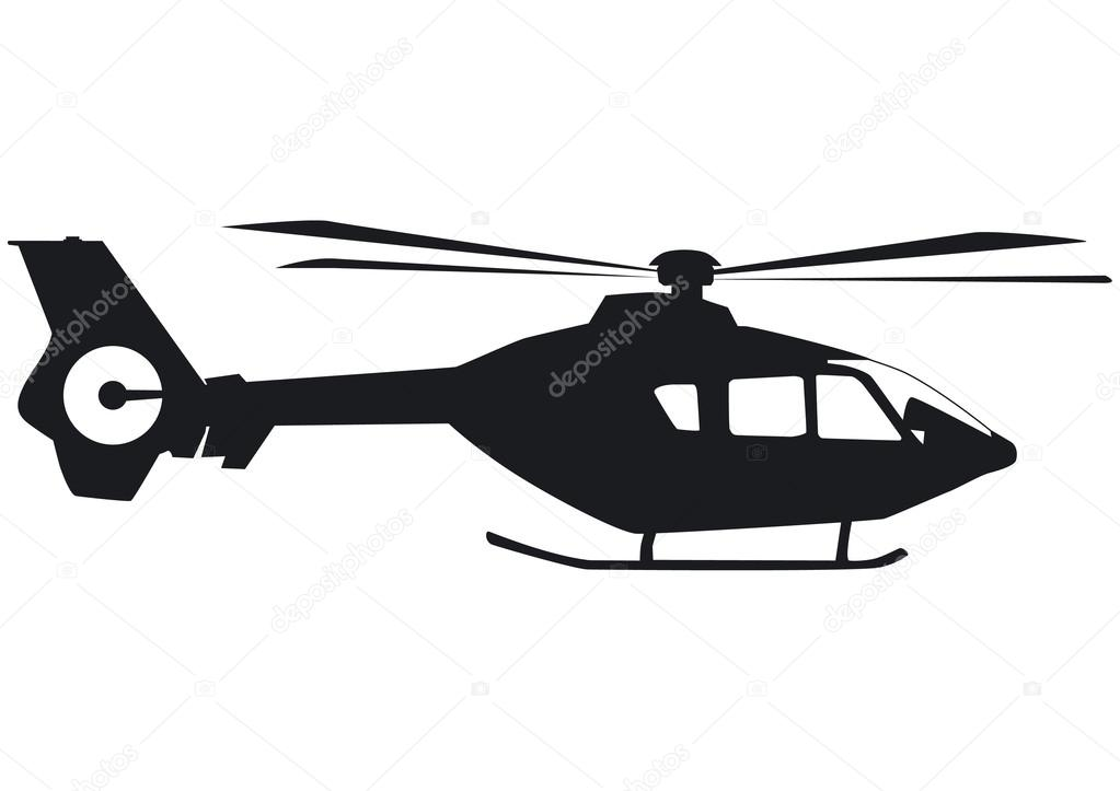 1023x723 Helicopter Silhouette Stock Vectors, Royalty Free Helicopter