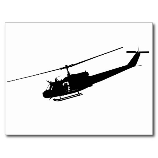 512x512 Huey Helicopter Silhouette Clipart Panda