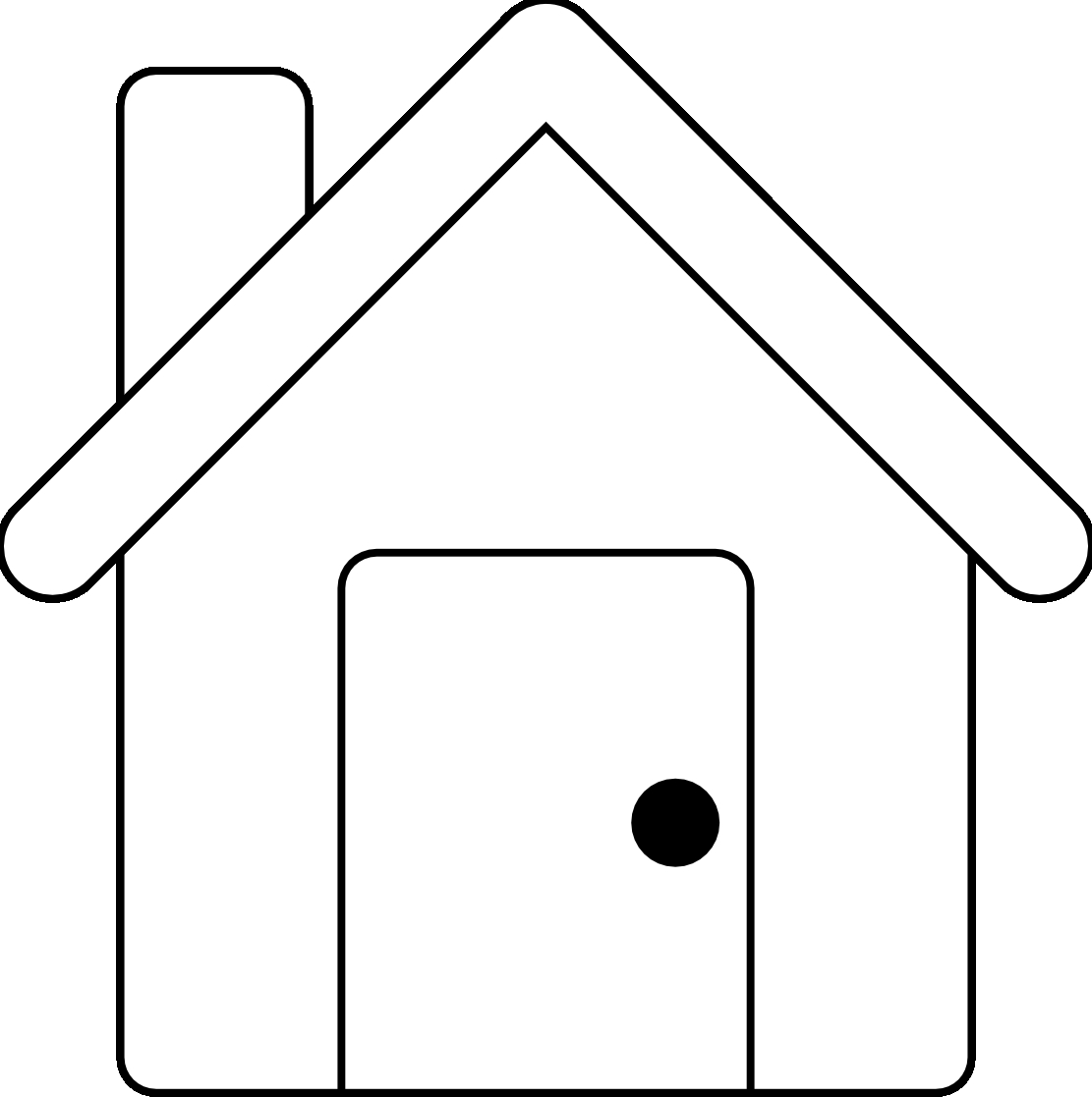apartment clipart black and white free download best apartment