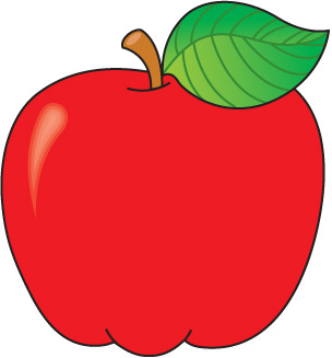 304x327 Apple Basket Clipart Bay