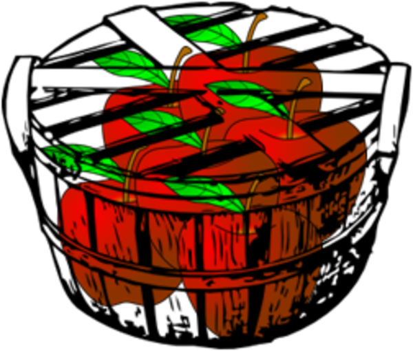 600x510 Laufuhr Test Images Apple Basket Clipart