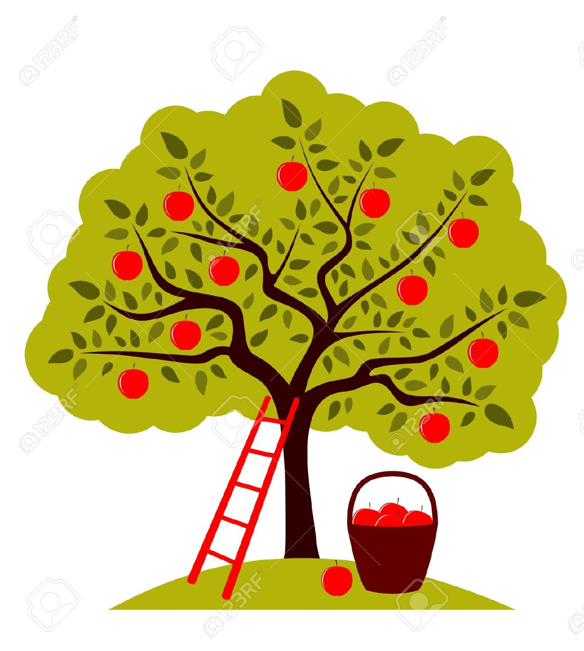 1166x1300 Top 89 Apple Tree Clip Art