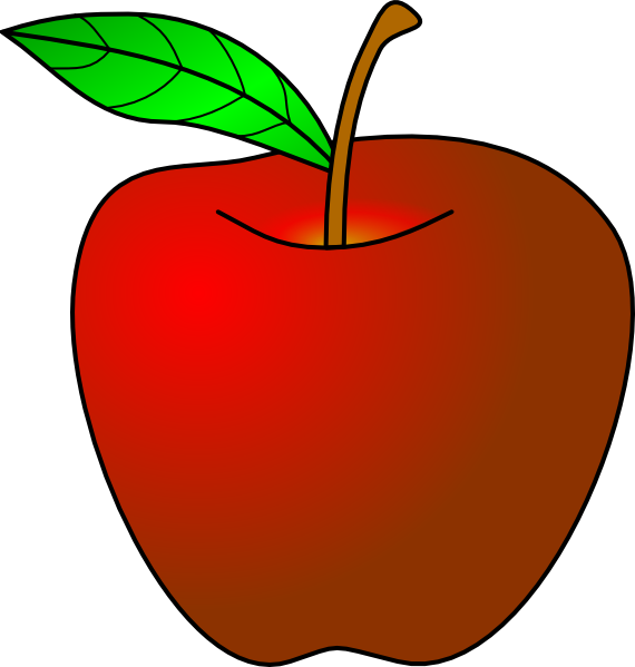 570x599 Apple Clip Art