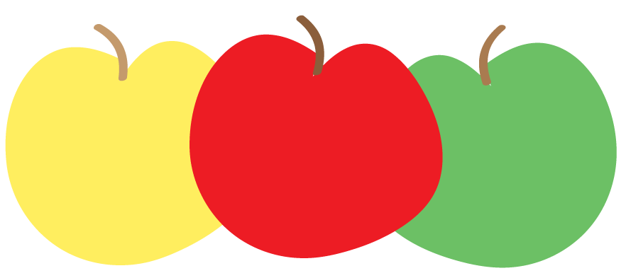 882x393 Apple Border The Cliparts