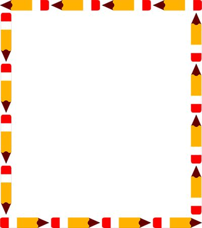 400x451 Education Clipart Borders