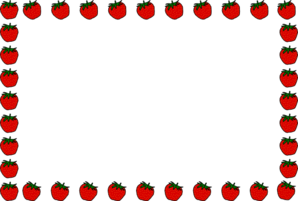 298x201 Apple Border Clipart Many Interesting Cliparts
