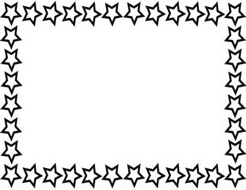 480x371 Star Clipart Boarder