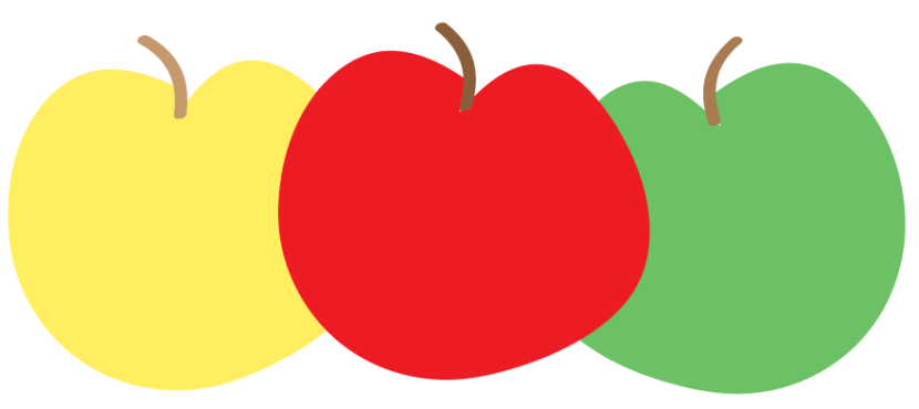 830x370 Apple Clipart Frame