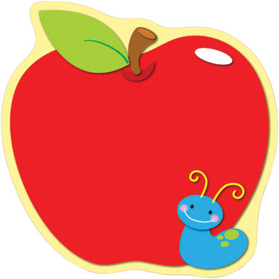 400x400 Free Teacher Apple Clipart Image