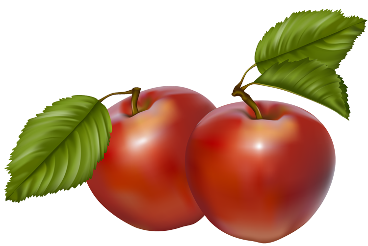 750x502 Red Apple Fall Apple Border Clipart Kid
