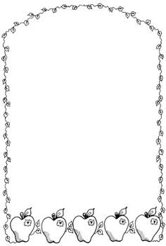 236x350 Border Clipart Black And White
