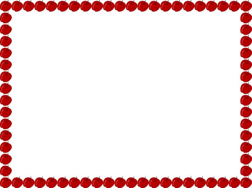 830x621 Apple border clip art 2 –