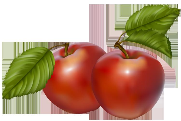 750x502 Red Apple Fall Apple Border Clipart Kid