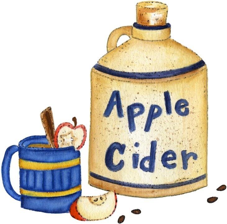 731x724 Apple Cider Clipart