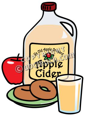 300x400 Apple Cider In Circle Clipart
