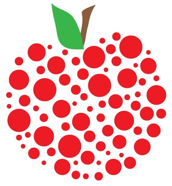 578x624 Apple Teacher Clipart