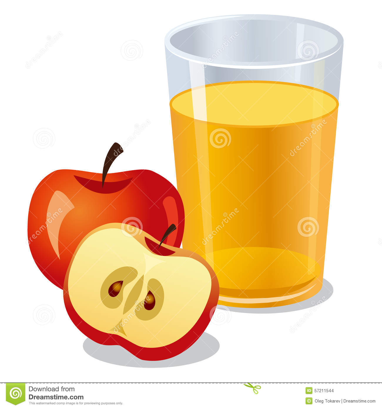 1300x1390 Apple Juice Clipart