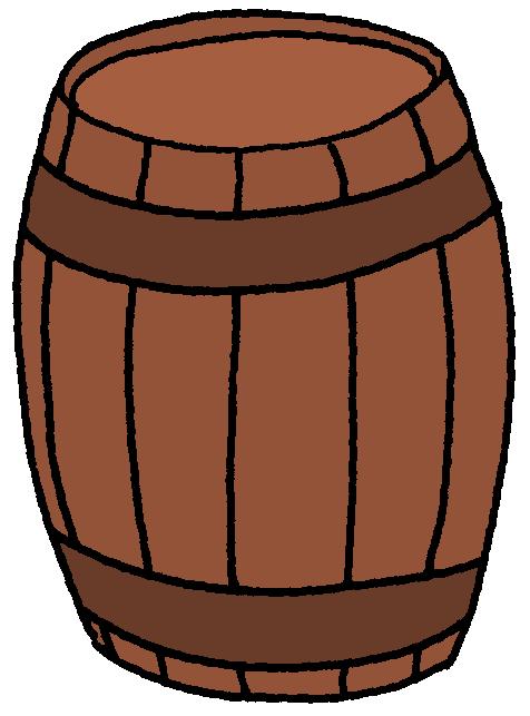 476x643 Barrel Clipart
