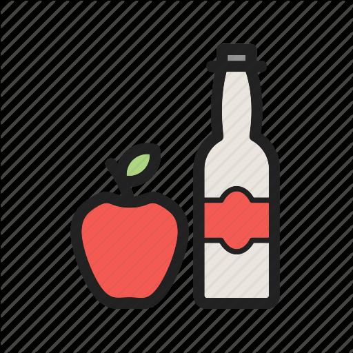 512x512 Apple, Cider, Food, Fresh, Healthy, Organic, Vinegar Icon Icon