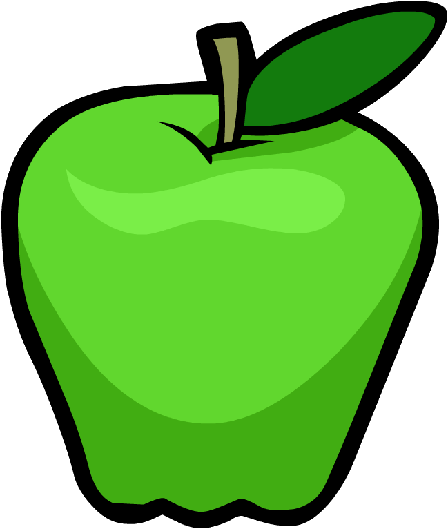 649x766 Green Apple Clipart Kid 3