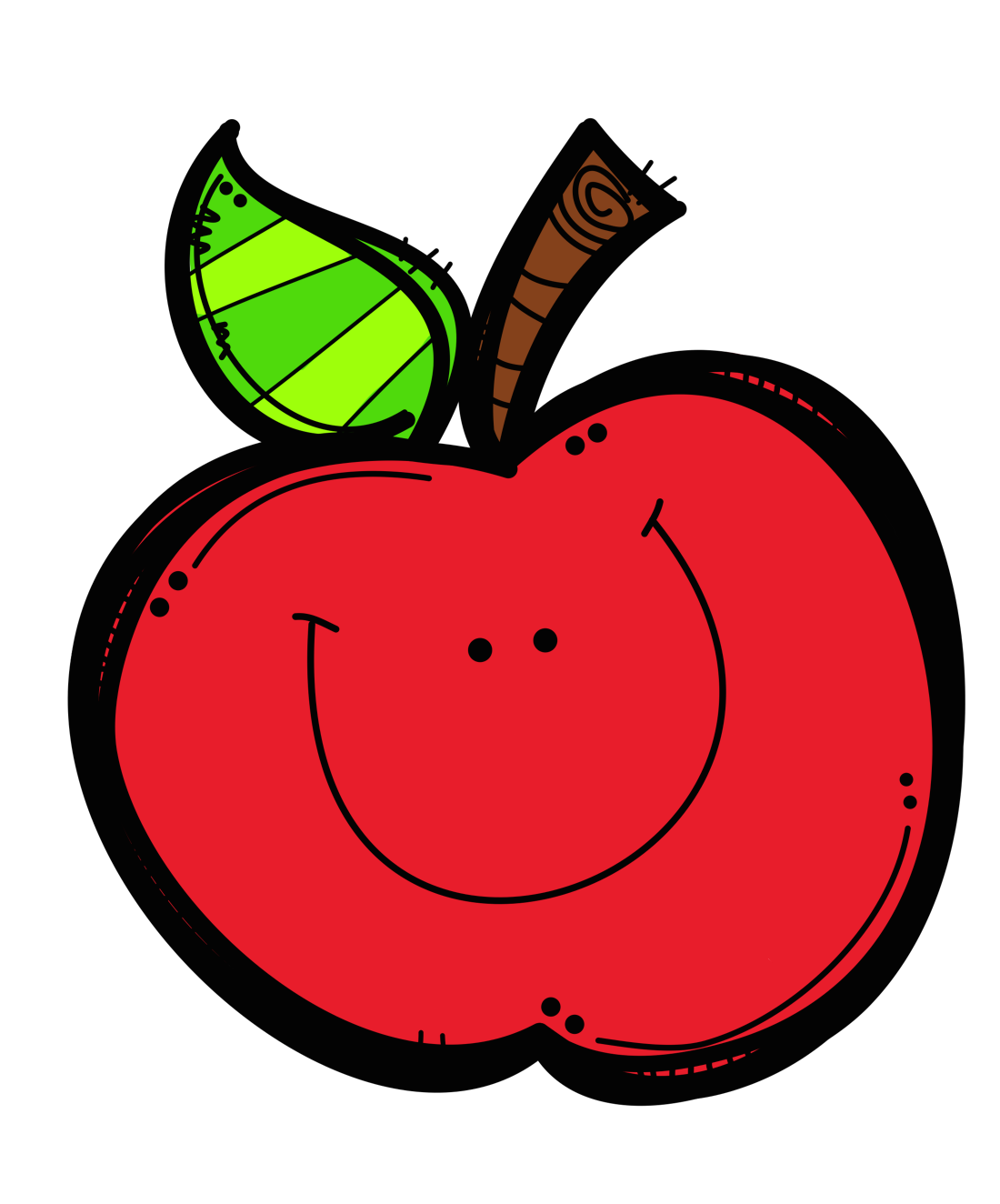 1100x1324 Apple Clip Art 7