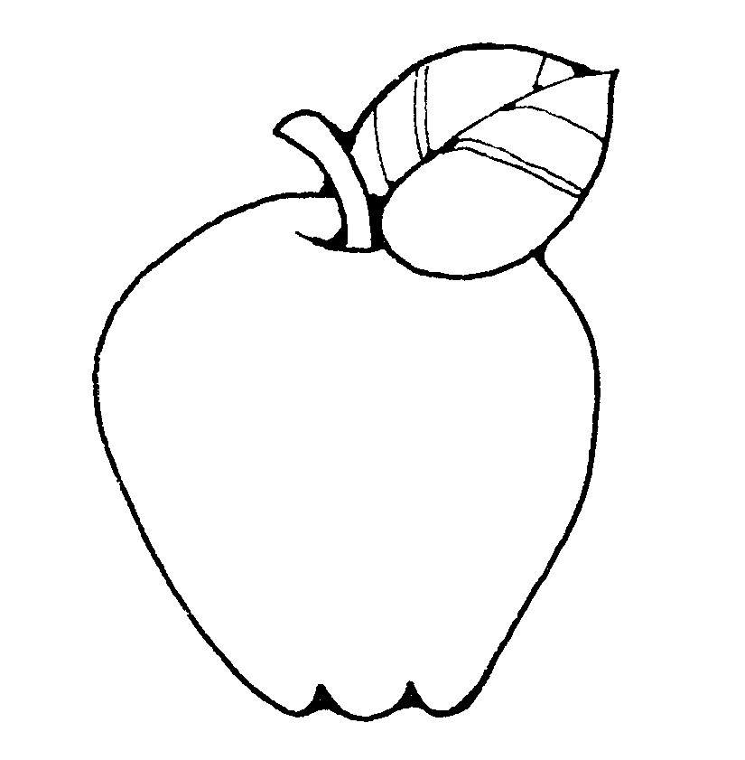 825x841 Black Amp White Clipart Fruit
