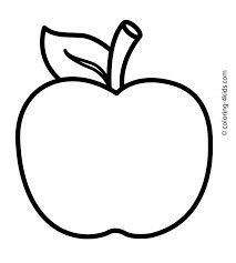 213x237 Apple Clipart Blackand White