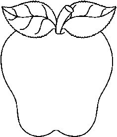 236x275 School Apple Clip Art Black And White Clipart Panda
