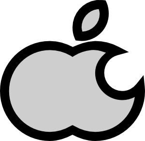 300x291 Apple Clipart Free Vector Apple Clip