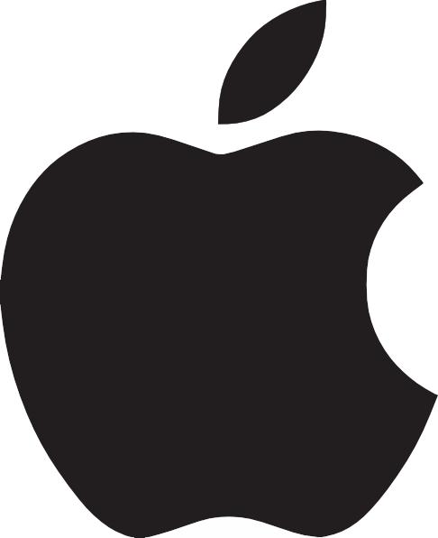486x596 Apple Logo Clip Art