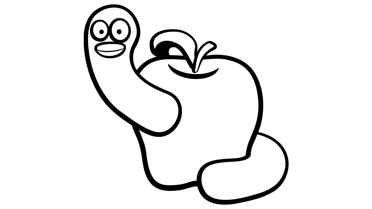 1280x720 Apple Black And White Apple Black And White Apple Clip Art Free