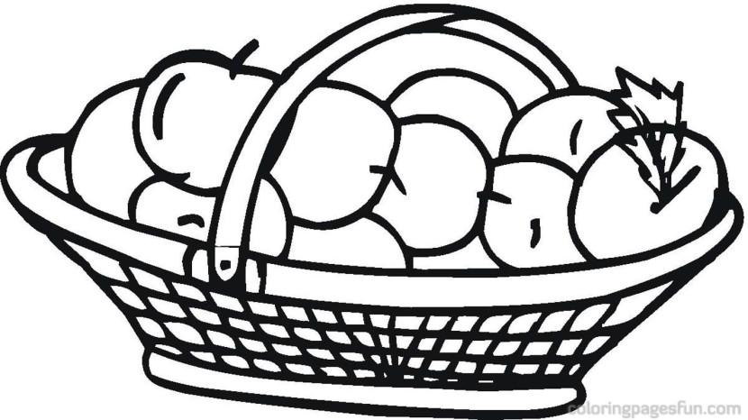 830x466 Apple Clipart Apple Basket