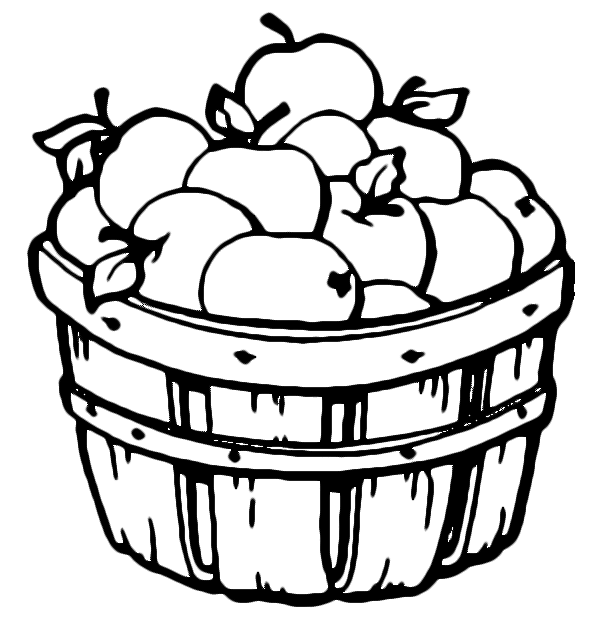 600x620 Apple For Pages Clipart