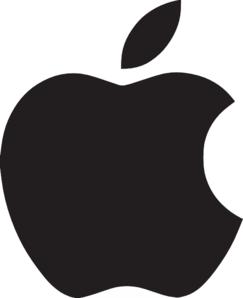 243x298 Apple Logo Clip Art
