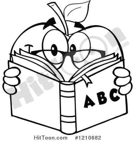 450x470 Alphabet Book Clip Art