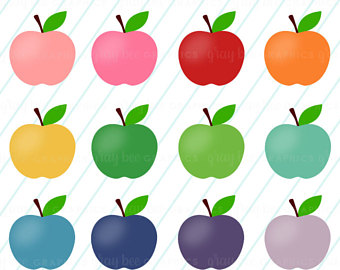 340x270 Apple Clipart Etsy