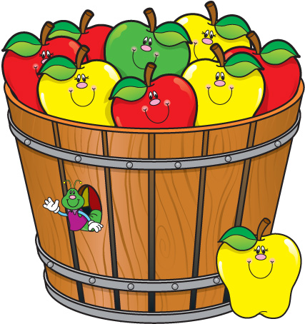 427x454 Barrel Of Apples Clip Art Clipart Collection 6