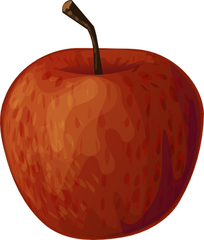 400x472 Clip Art Red Apple Clipart Cliparts For You 4
