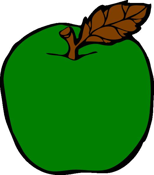522x593 Green Apple Clip Art
