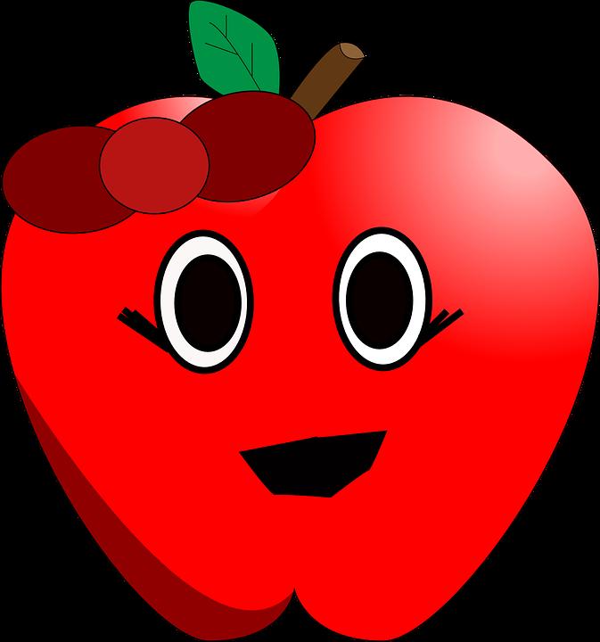 673x720 Apples Clip Art