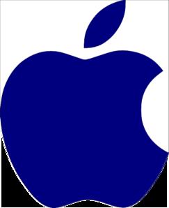 243x298 Apple Logo White Clip Art