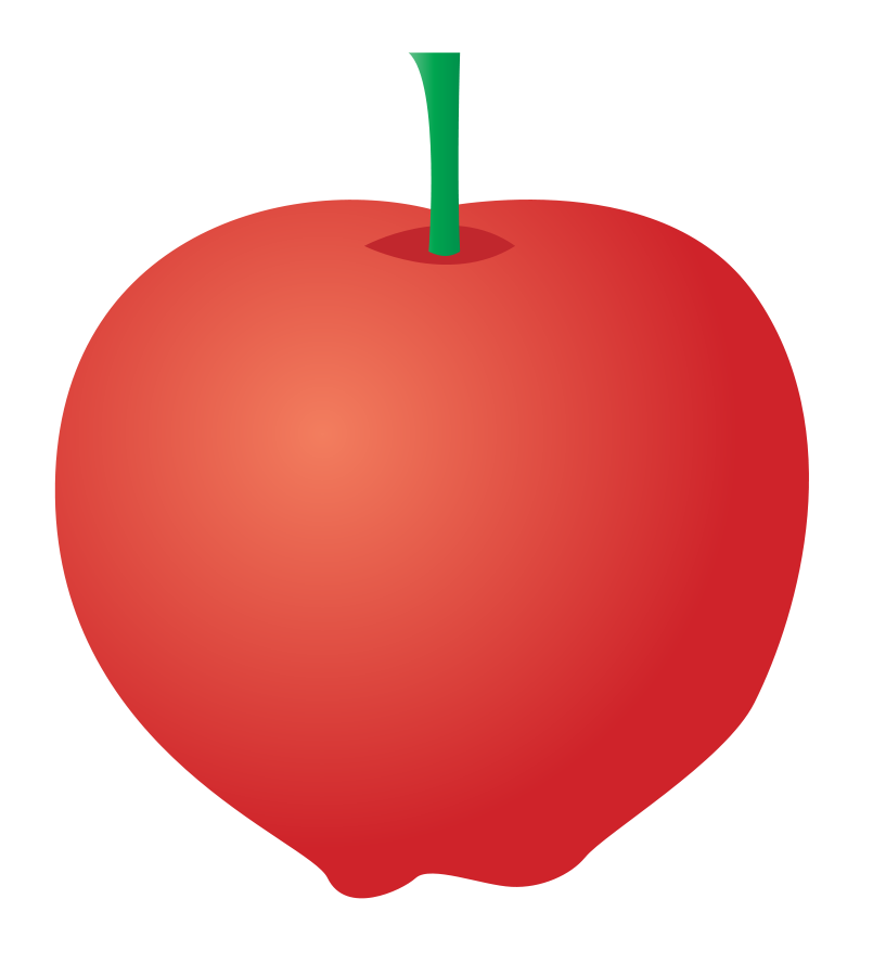 805x900 Apple Clip Art Clipartset