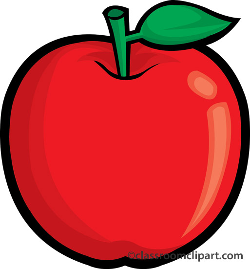 513x550 Apple Clipart Clear Background