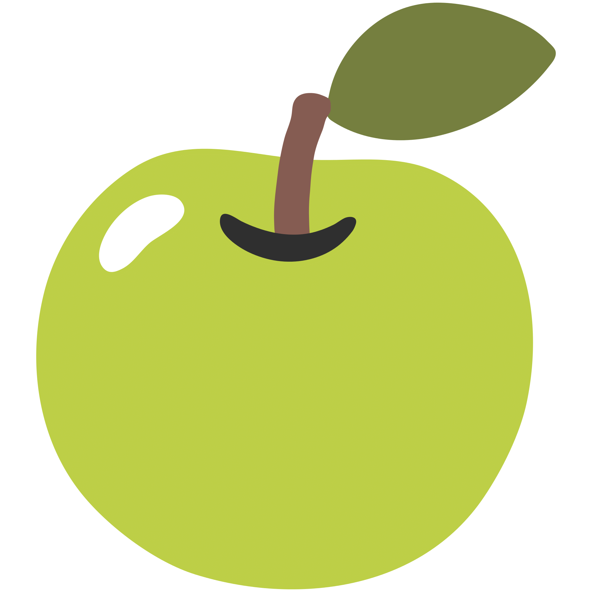 2000x2000 Apple Clipart Clear Background