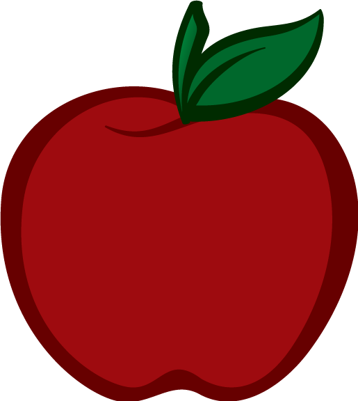 515x576 Apple Clipart Transparent Background