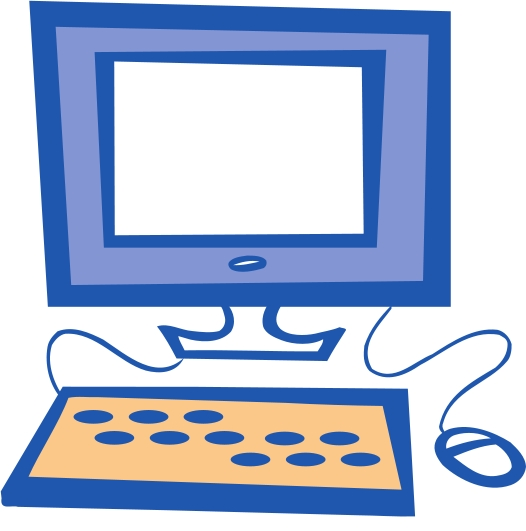 526x531 Computer Clipart Craft Projects, Electronic Clipart