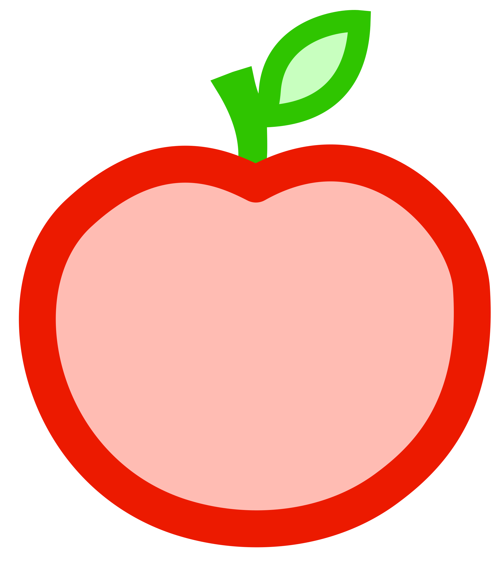 2129x2400 Colors Clipart Apple